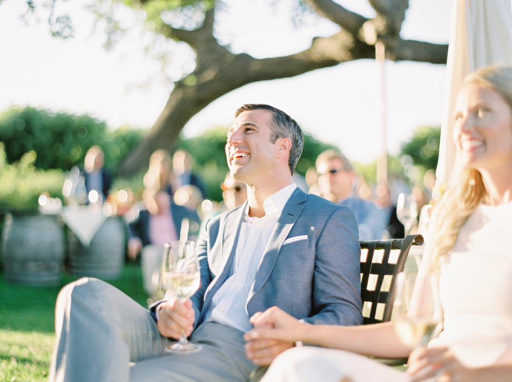 California Gainey Vineyard Wedding Welcome Reception