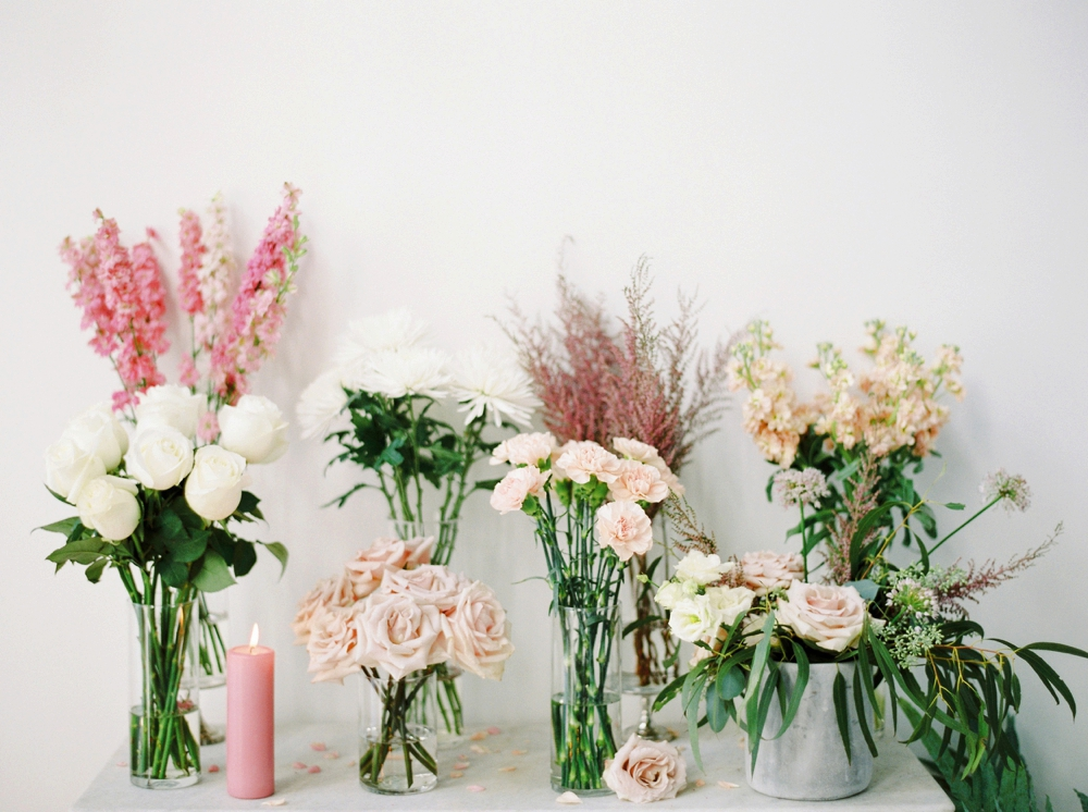 Fall For Florals Blush and Raven Editorial | Calgary wedding photographers | Justine Milton fine art film photography