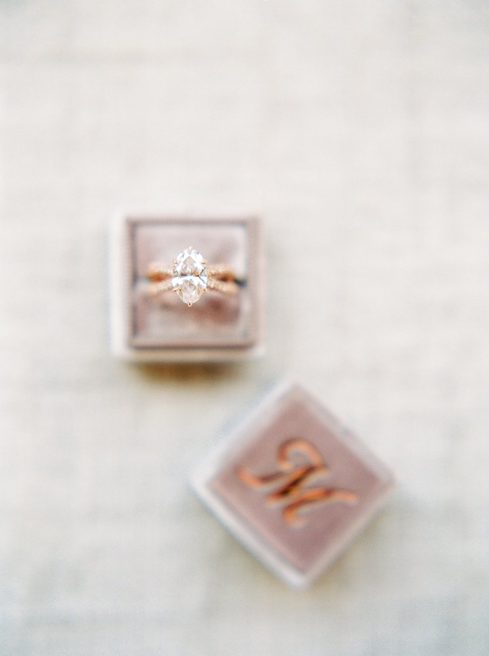 Sunstone Villa California Wedding | Justine Milton Fine Art Film Photographers | Ring