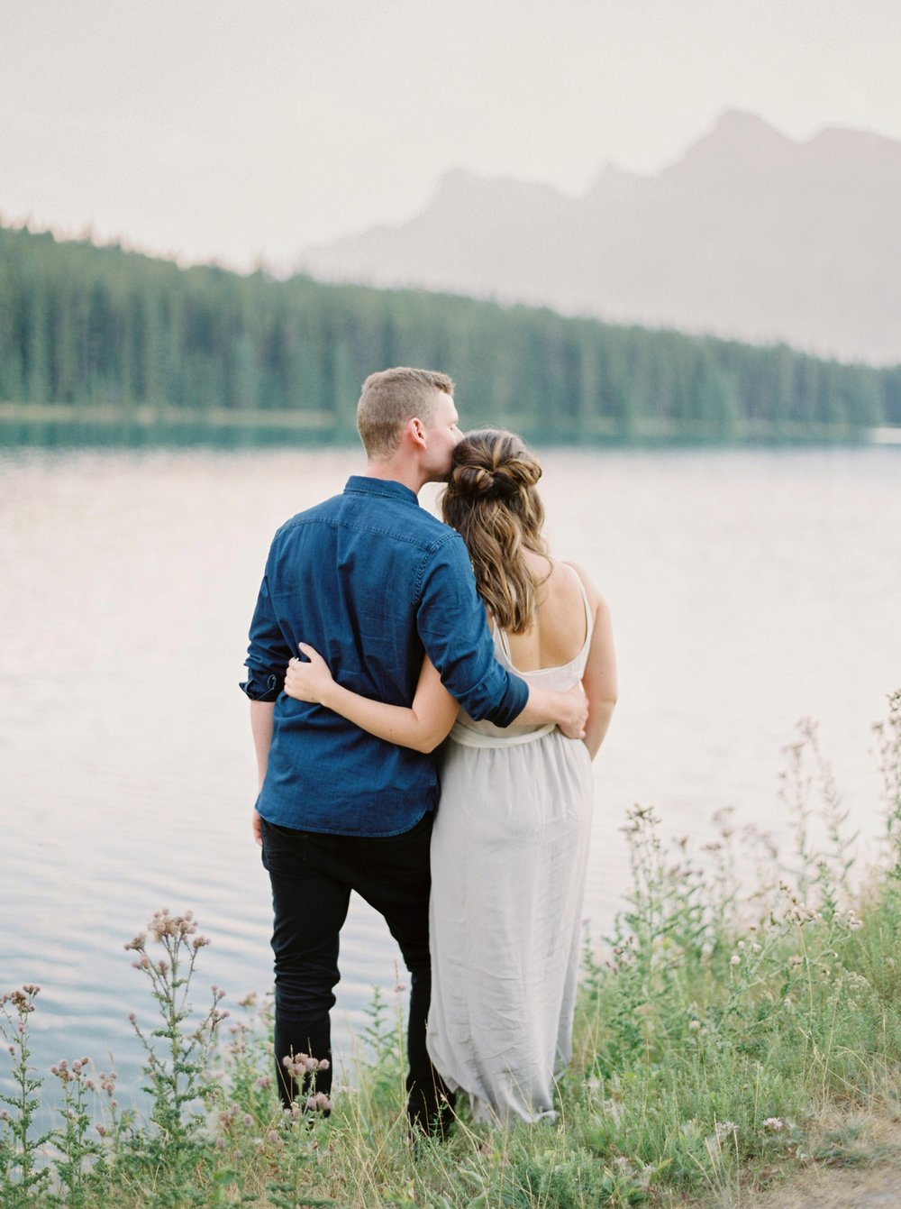Banff Engagement Photographers | Banff Proposal Photography | Justine Milton