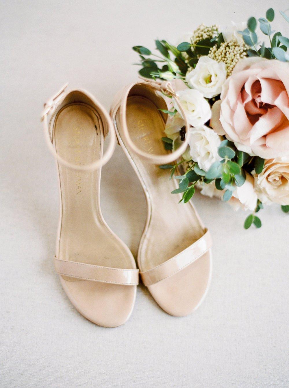 Kelowna wedding photographers | hotel eldorado wedding photographer | justine milton fine art film photography | adding shoes | wedding details