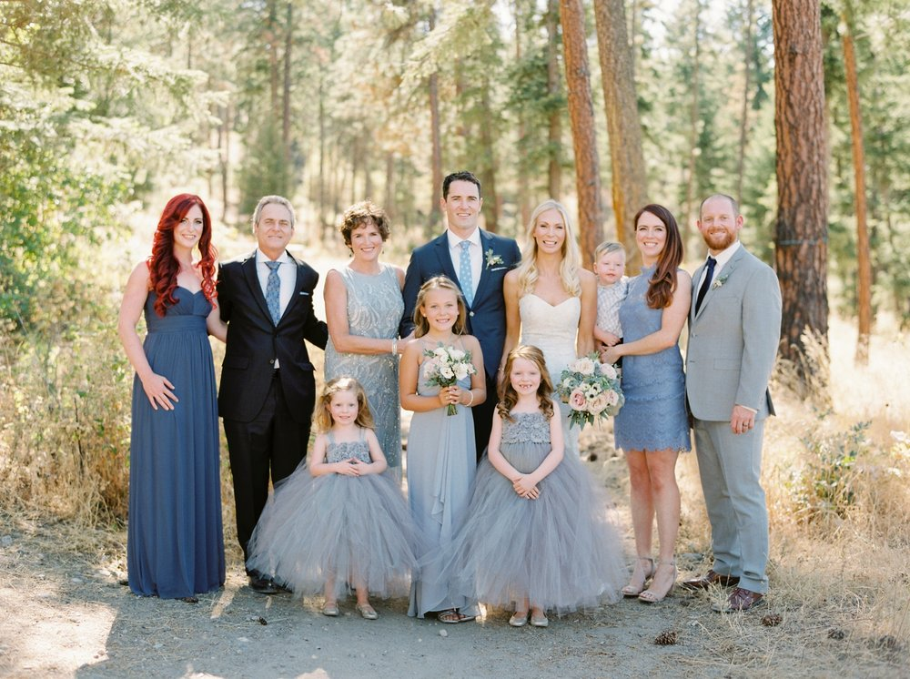 Kelowna wedding photographers | hotel eldorado wedding photographer | justine milton fine art film photography | bride and groom | bride and groom portraits | family wedding portrait