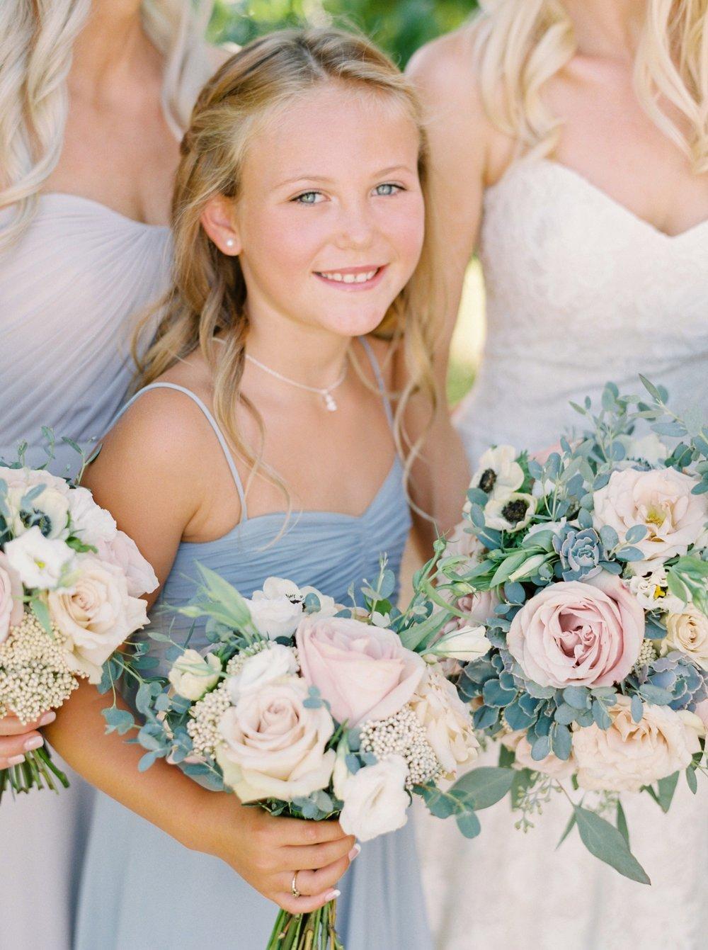 Kelowna wedding photographers | hotel eldorado wedding | okanagan wedding | Justine Milton fine art film Photography | pastel bridal bouquet | blush and blues | bouquet