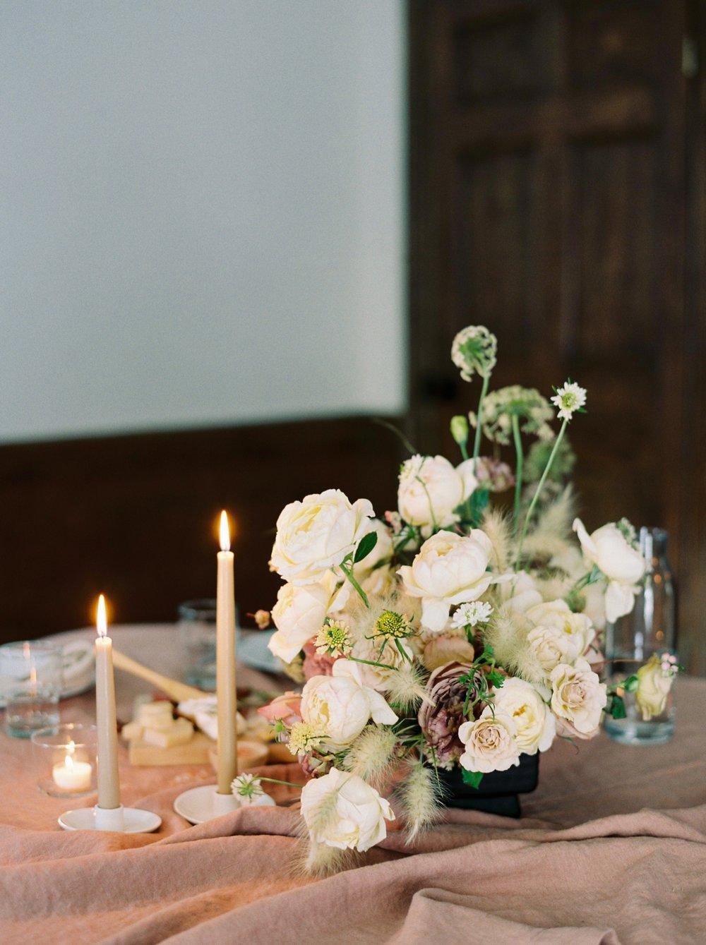 Charleston wedding photographer | anniversary dinner | fine art film photography | Calgary Wedding Photographers | Calgary couples photographer | Justine Milton Photography | decor | flowers