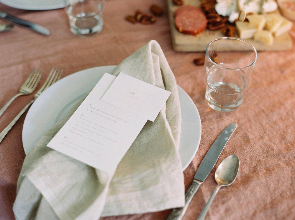 Charleston wedding photographer | anniversary dinner | fine art film photography | Calgary Wedding Photographers | Calgary couples photographer | Justine Milton Photography | decor |