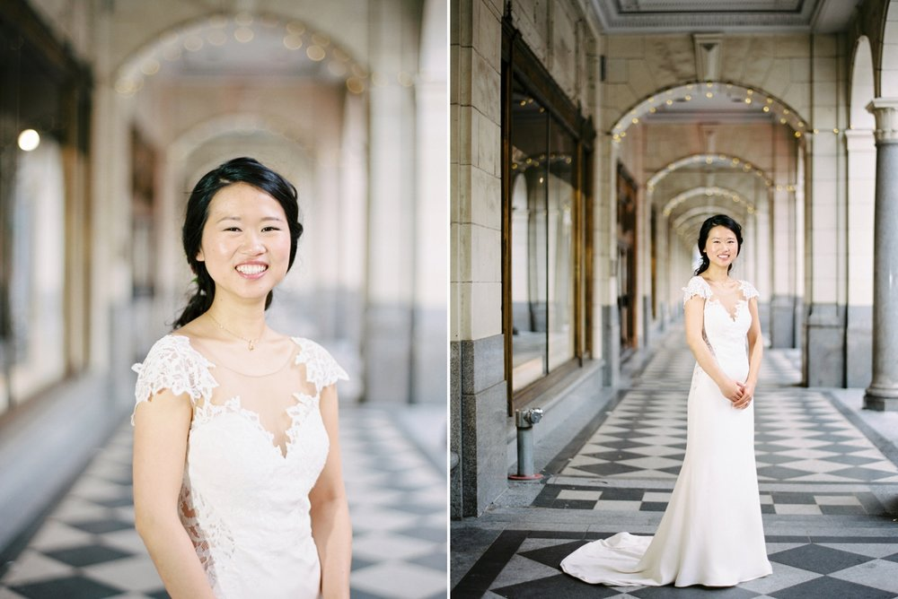 Calgary wedding photographer | fine art film photography | Calgary Wedding Photographers | Justine Milton Photography | workshop wedding | wedding dress | bride portraits