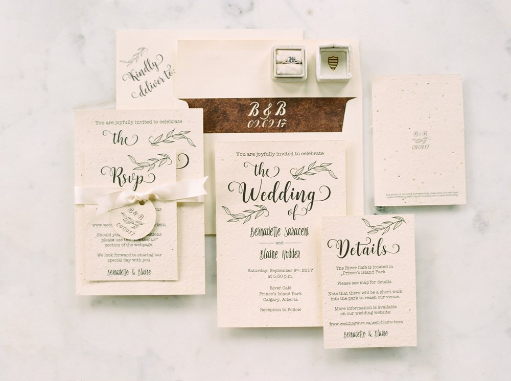 Calgary wedding photographers | wedding invitations | fine art film | Justine Milton Photography | wedding inspiration
