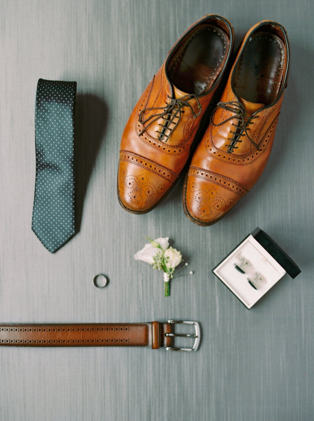 Calgary wedding photographers | fine art film | Justine Milton Photography | wedding inspiration | groom getting ready | wedding shoes
