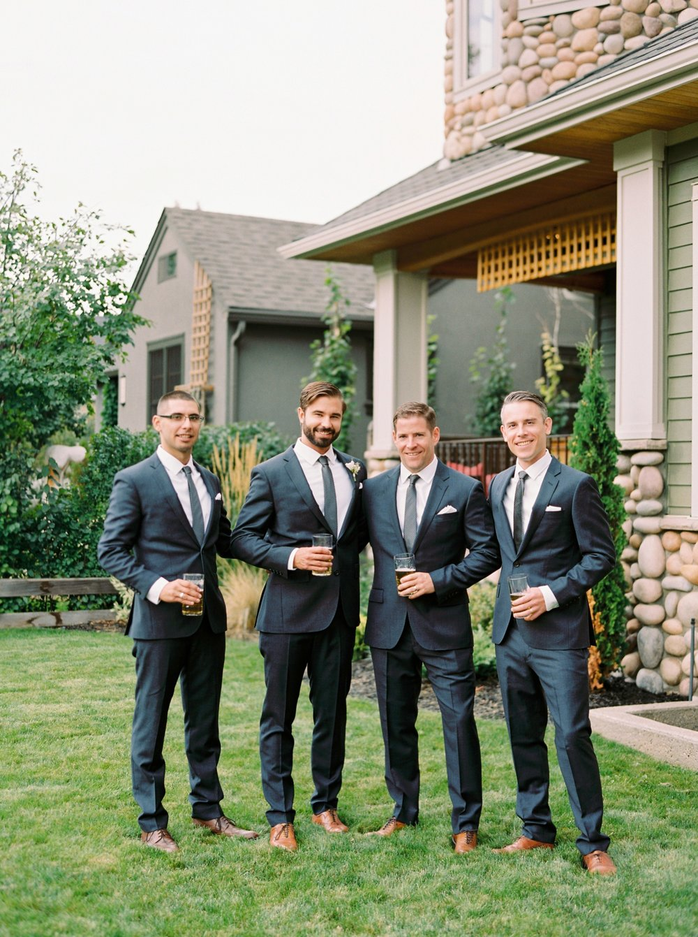 Calgary wedding photographers | fine art film | Justine Milton Photography | wedding inspiration | groom details | groomsmen