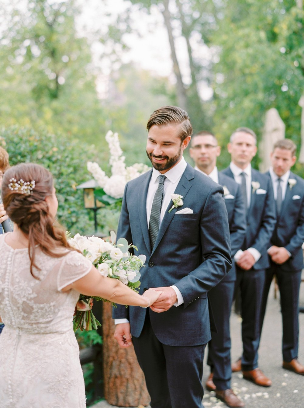 Calgary wedding photographers | fine art film | Justine Milton Photography | wedding inspiration | wedding chairs | wedding flowers | wedding ceremony | bride and groom