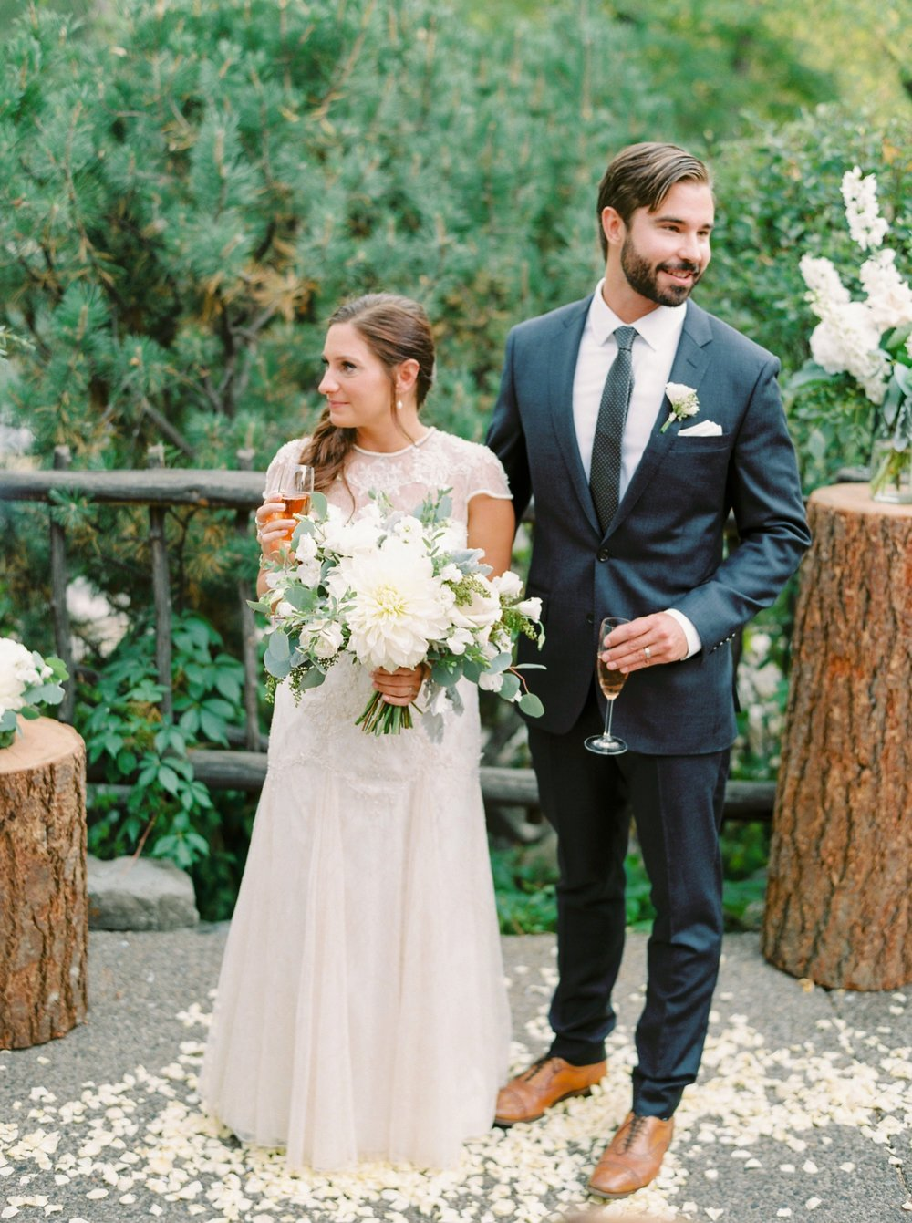 Calgary wedding photographers | fine art film | Justine Milton Photography | wedding inspiration | wedding chairs | wedding flowers | wedding ceremony | bride and groom | wedding vows