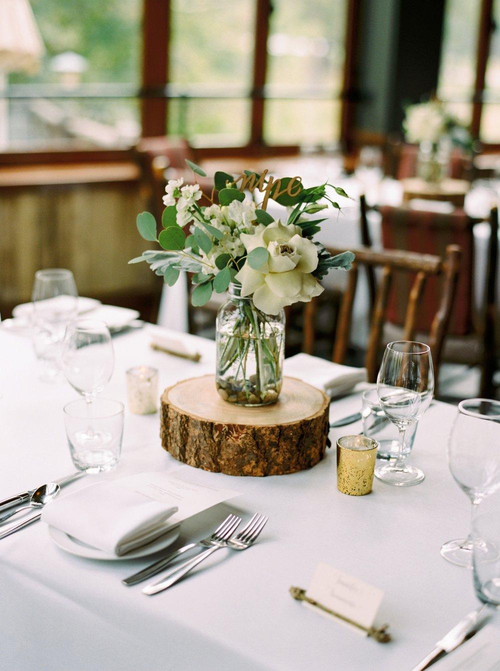Calgary wedding photographers | fine art film | Justine Milton Photography | wedding inspirations | wedding reception | flower arrangements