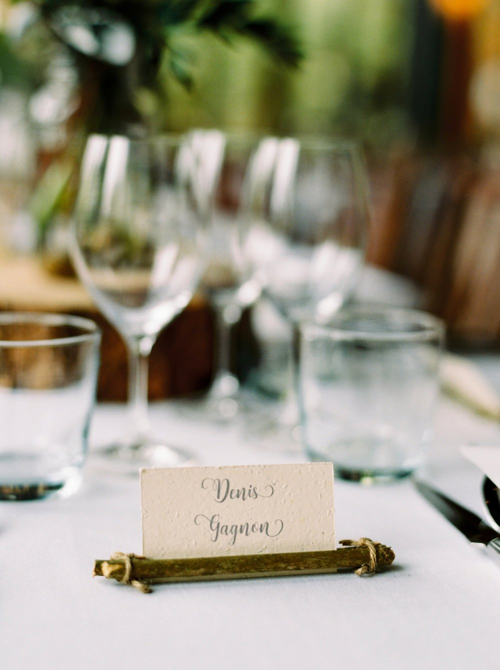 Calgary wedding photographers | fine art film | Justine Milton Photography | wedding inspirations | wedding reception | river cafe | wine glasses