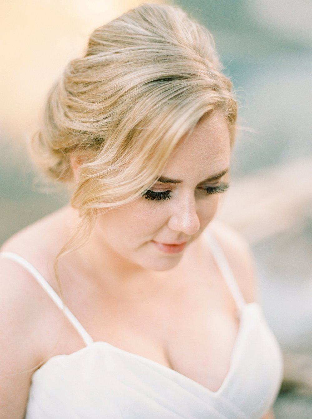 Calgary wedding photographers | banff wedding photographers | fine art film | Justine Milton Photography | wedding vows | elopement photographers | bride portraits | moraine lake
