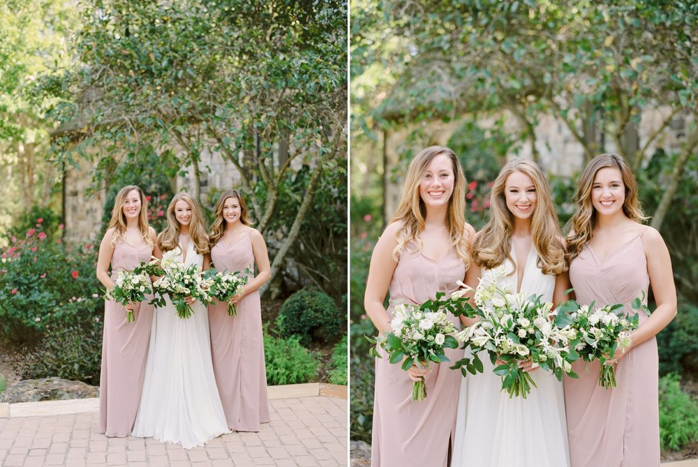 Calgary wedding photographers | georgia wedding photographers | fine art film | Justine Milton Photography | georgia wedding | wedding dress | pastel bouquet | pastel wedding | bridesmaids portraits