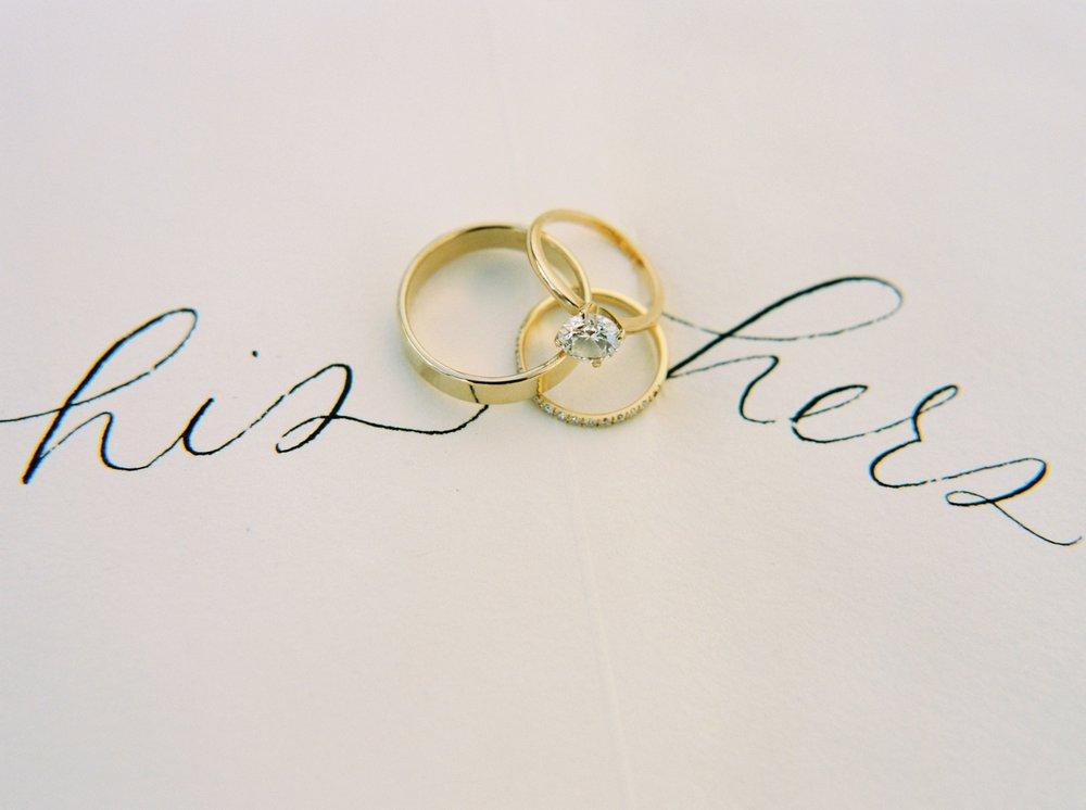 Calgary wedding photographers | oregon wedding photographers | fine art film | Justine Milton Photography | oregon wedding | his and hers | wedding rings
