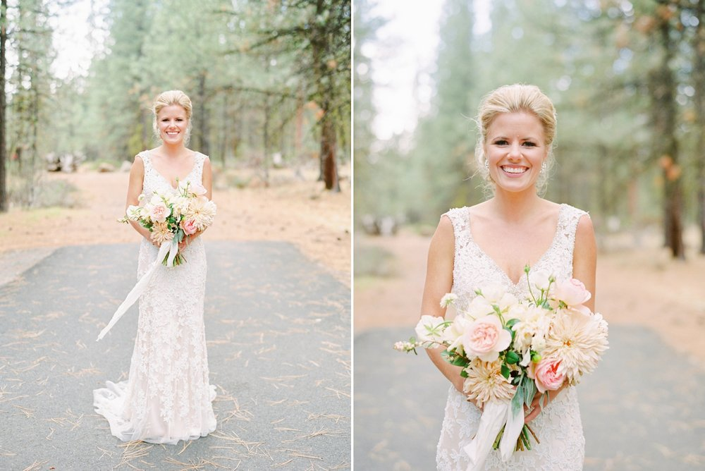Calgary wedding photographers | oregon wedding photographers | fine art film | Justine Milton Photography | oregon wedding | bride portraits | pastel wedding dress | pastel bouquet