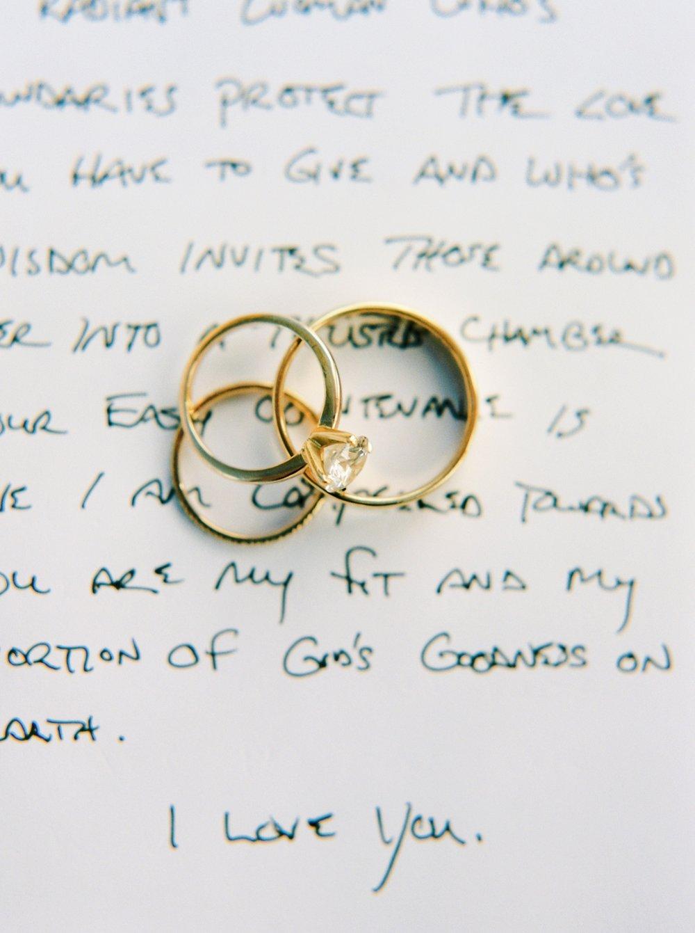 Calgary wedding photographers | oregon wedding photographers | fine art film | Justine Milton Photography | oregon wedding | wedding ceremony | wedding rings