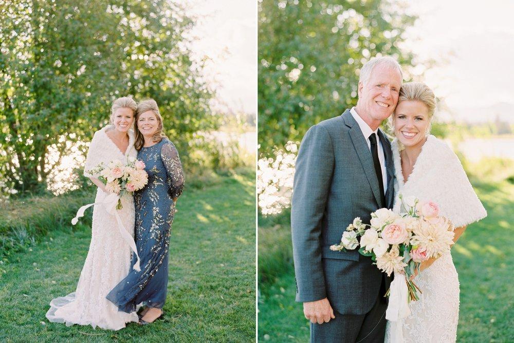 Calgary wedding photographers | oregon wedding photographers | fine art film | Justine Milton Photography | oregon wedding | bride portraits | family of the bride