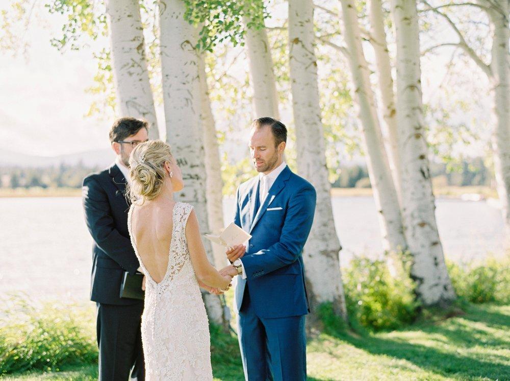 Calgary wedding photographers | oregon wedding photographers | fine art film | Justine Milton Photography | oregon wedding | wedding ceremony | bride and groom | wedding vows