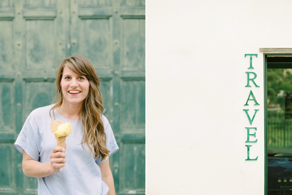Calgary wedding photographers | fine art film | Justine Milton Photography | amalfi coast | ravello photographers | italy photography | travel photographers | ice cream