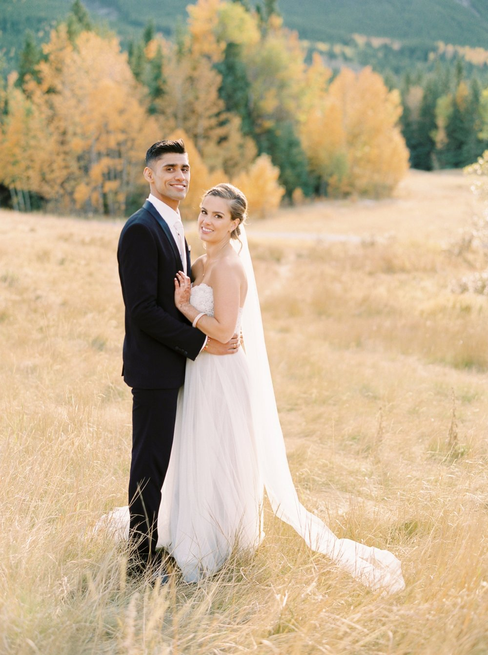Calgary wedding photographers | fine art film | Justine Milton Photography | canmore wedding photographers | bride and groom portraits