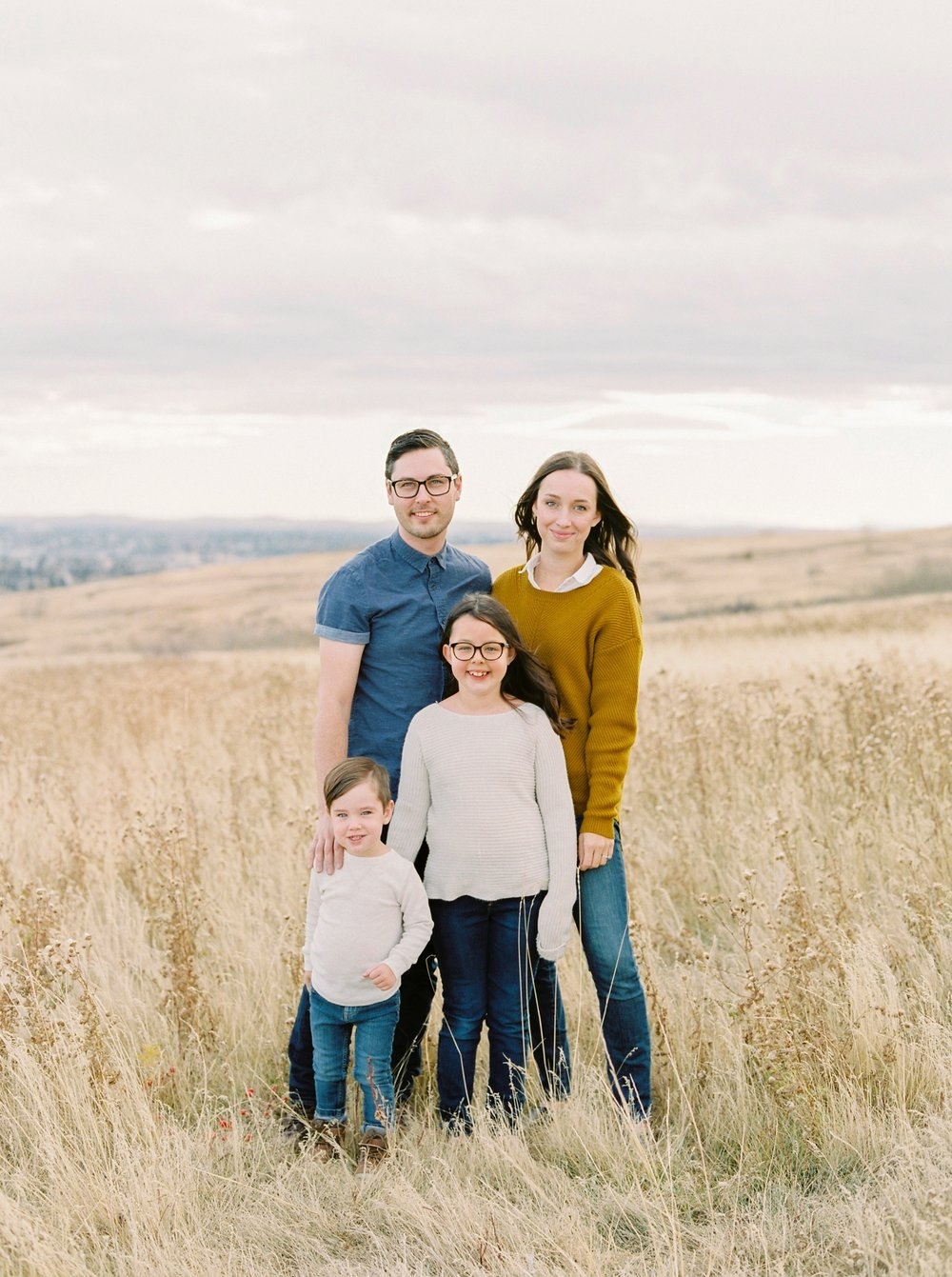 Fall family photographers | Calgary fine art family photographer | Justine Milton Photography