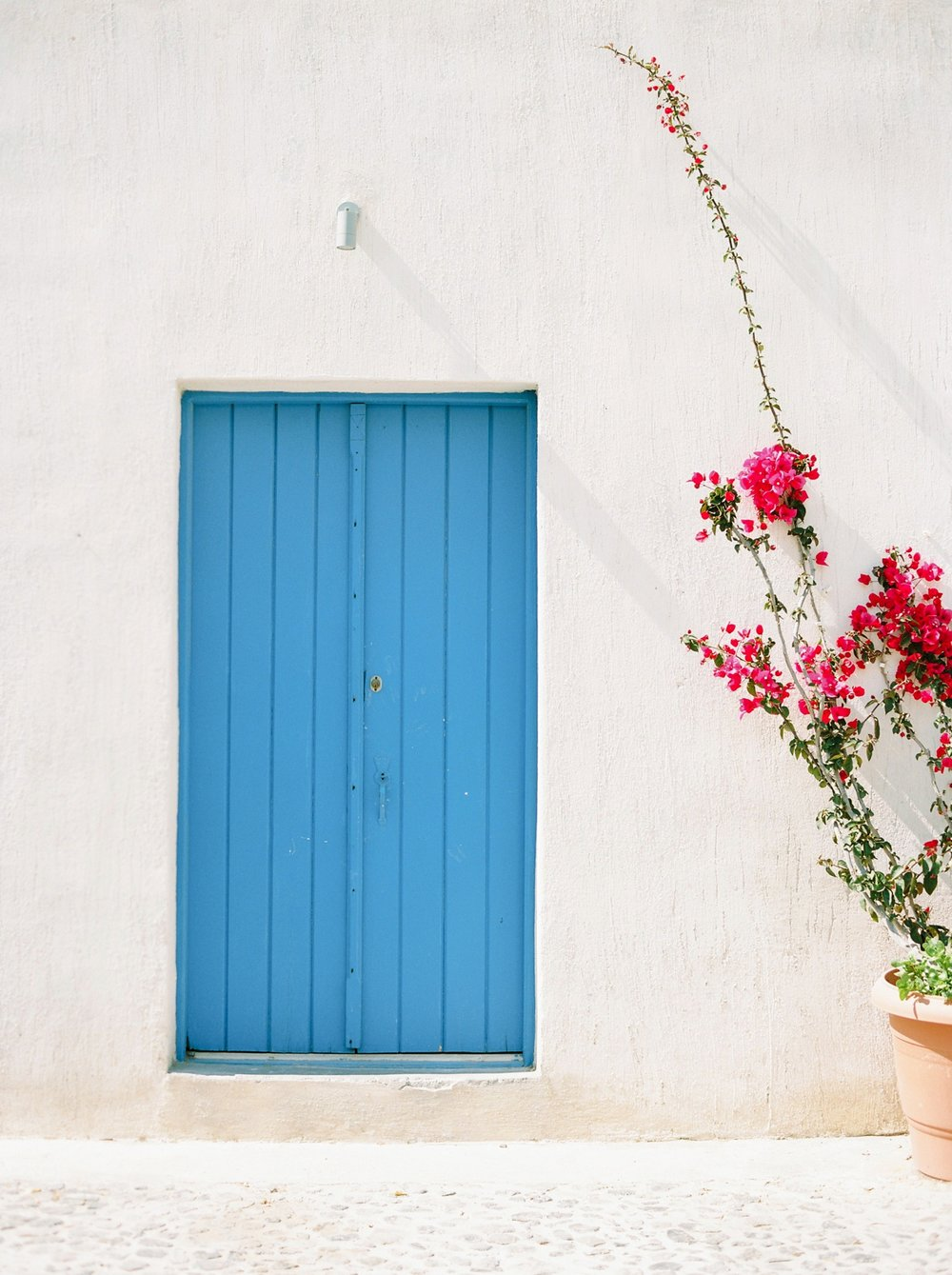 fine art film travel prints | art print shop | photographic prints for sale | santorini greece wedding photographers | Justine Milton Photography