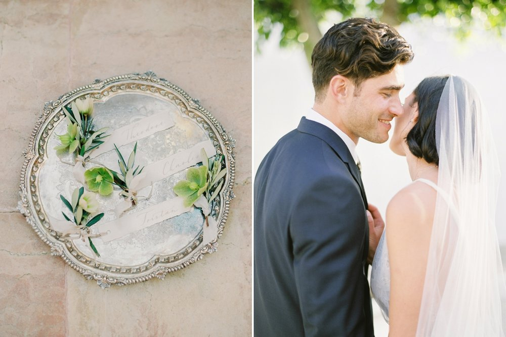 spetses greece destination wedding photographers | intimate wedding in a private villa in greece | Magnolia rouge | film photography workshop phos | Justine Milton Photography