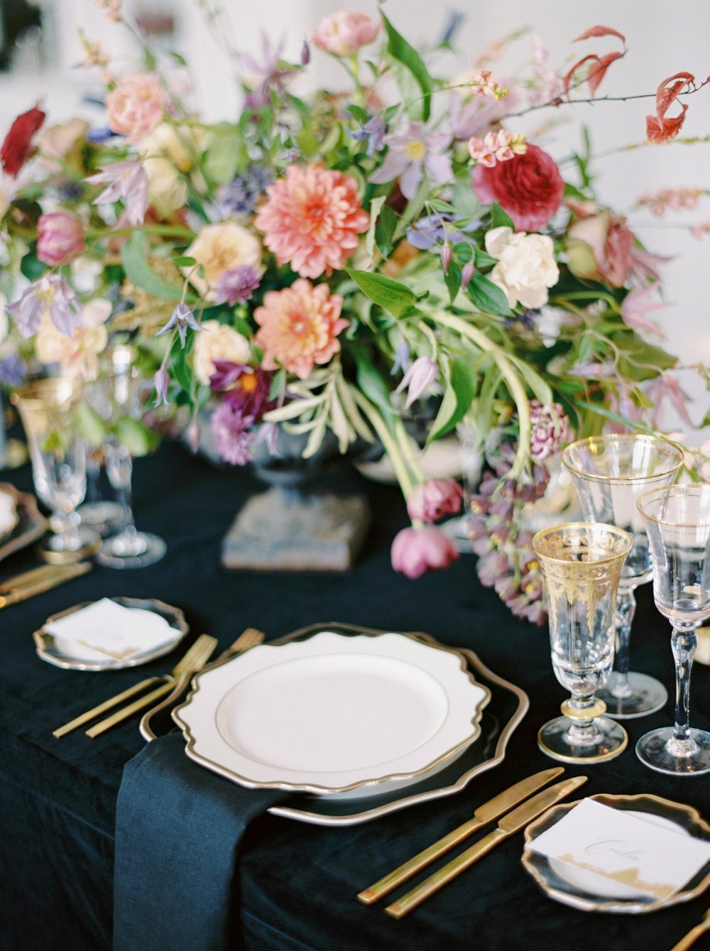 Spetses greece destination wedding photographer | Poseidonion Grand Hotel Wedding | Justine Milton fine art film photography | black and colorful glamorous wedding inspiration