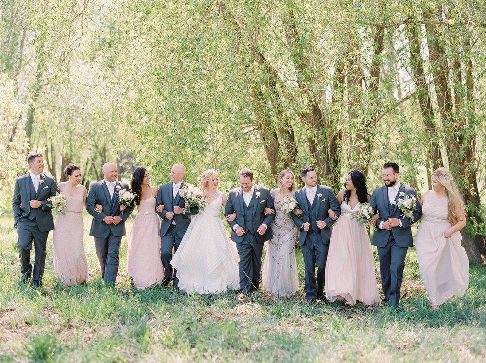 calgary wedding photographers | Ukrainian wedding | justine milton fine art photographer | wedding party