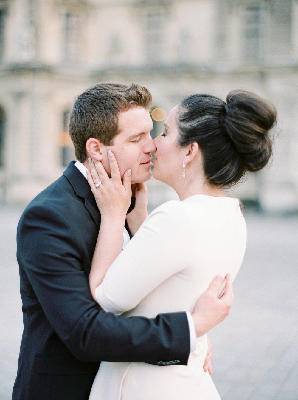 Paris weding photographers | pre wedding engagement session | fine art film photographer justine milton