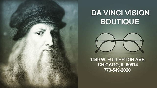 GET A MEANINGFUL EYE EXAM AT DA VINCI VISION BOUTIQUE!!! CALL US NOW!!!