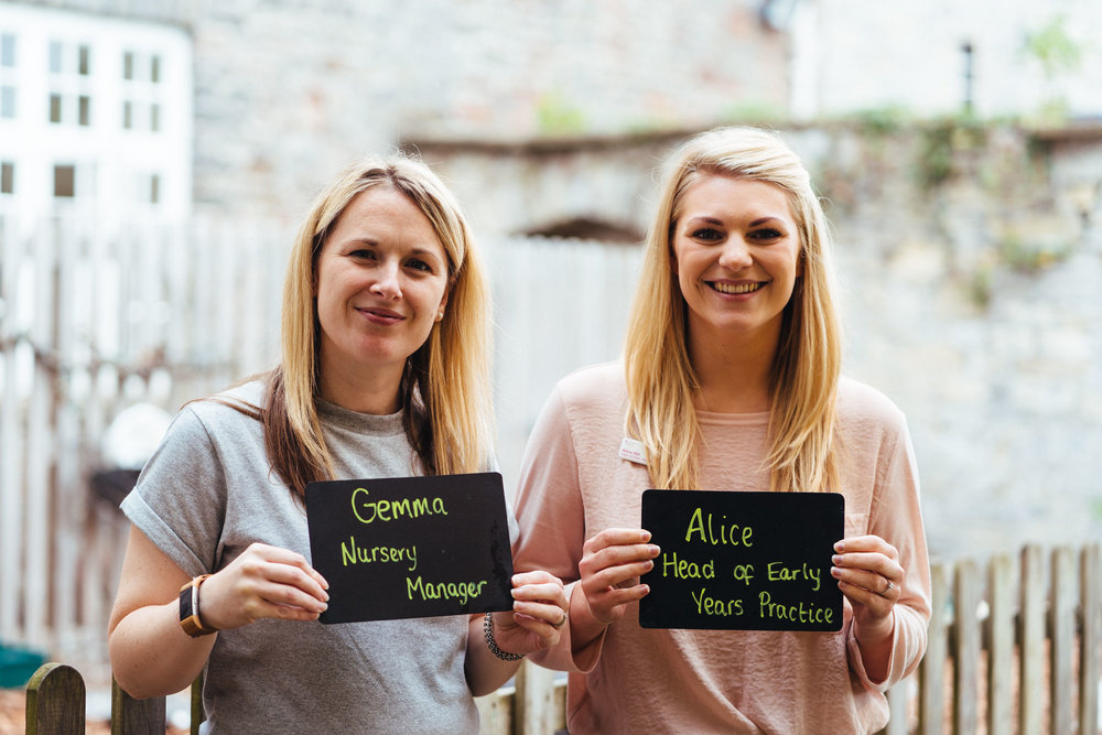 Gemma Smith & Alice Hill, the Management Team