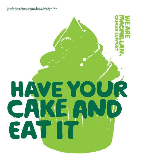 Bake Sale - We're having a bake sale to help raise money for Macmillan Cancer Support. If you would like to contribute with either sweet or savoury bakes please let us know! The sale will be taking place from 4pm on Friday 28th September.