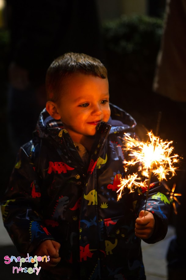 Sparkler Night went off with a Bang! -