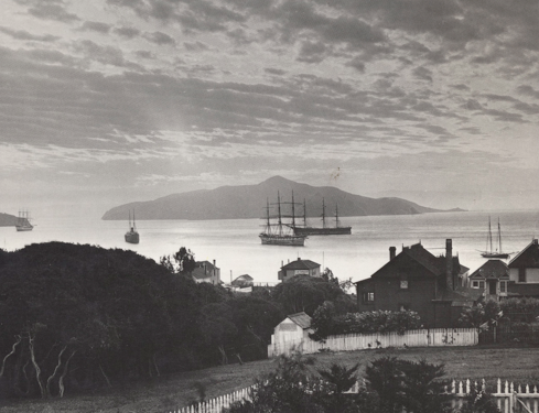 19th century Sausalito, Richardson's Bay and Angel Island - SHS Col