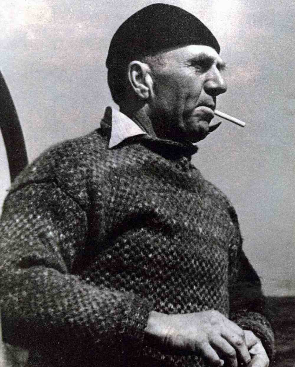 Herb Madden Sr., boat builder and more.  Photo courtesy of Sausalito Historical Society