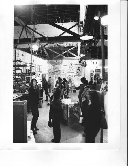 Tim Rose's ICB studio in the '60s.   Photo courtesy of Sausalito Historical Society
