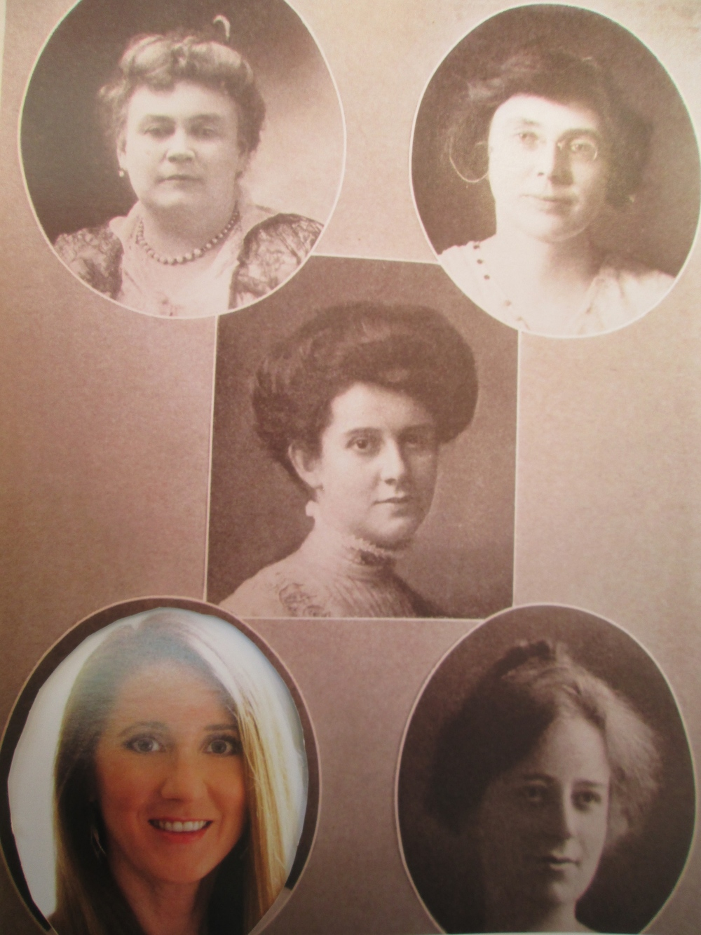Laura Ackley now joins other Marin women who were part of the Pan-Pacific Exposition. Photo collage by Steefenie WicksPhoto of Laura Ackley by Miguel Farias