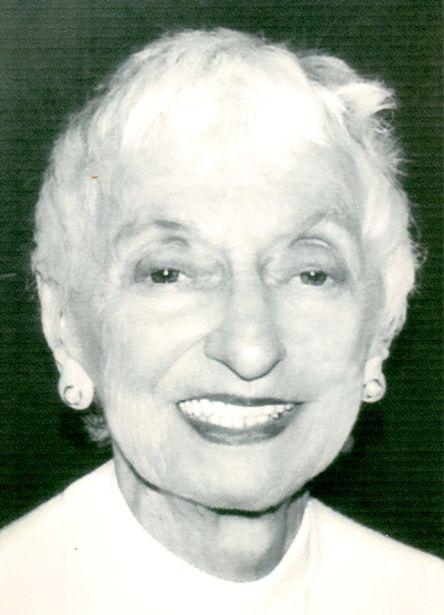 Bea Seidler, c. 2005. Photo courtesy of Sausalito Historical Society