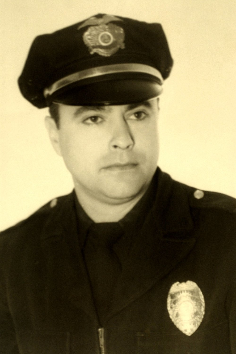 Louis Mountanos when he was police chief of Sausalito Photo courtesy of Sausalito Historical Society