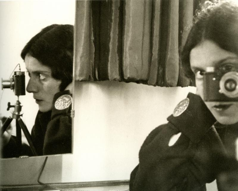 ILSE BING, Self Portait with Leica, Paris, 1931, Courtesy of Dr. Stephen Sheppard, New York