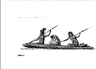 Early Miwoks called this area Lewan Helowah or West Water.    Illustration courtesy of the Sausalito Historical Society.