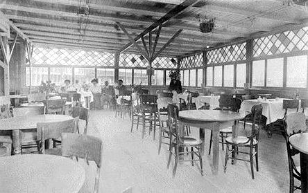 "The Arbordale expanded to ""the finest eating house on the bay"" in 1902. Photo courtesy of Sausalito Historical Society"