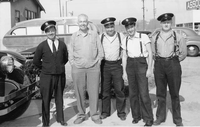 Cornelius Vanderbilt IV with the Sausalito Fire Department. Photo from Sausalito Historical Society