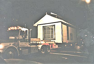 The Ice House moving to its new home downtown