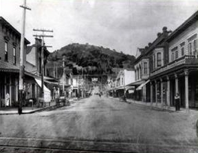 B Street San Rafael
