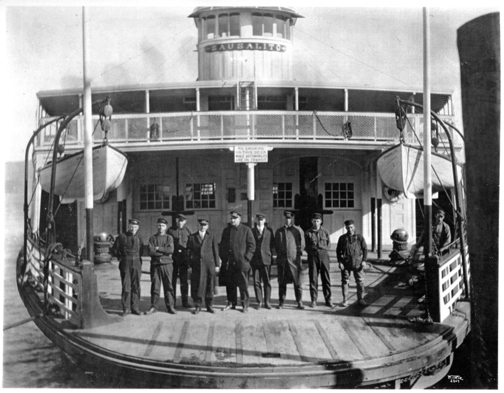 Sausalito Ferry Crew- SHS Collection