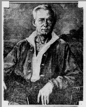 Portrait of Federick O'Brien from Sausalito News
